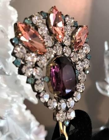 Vintage Purple Hair Pin - Etsy $28