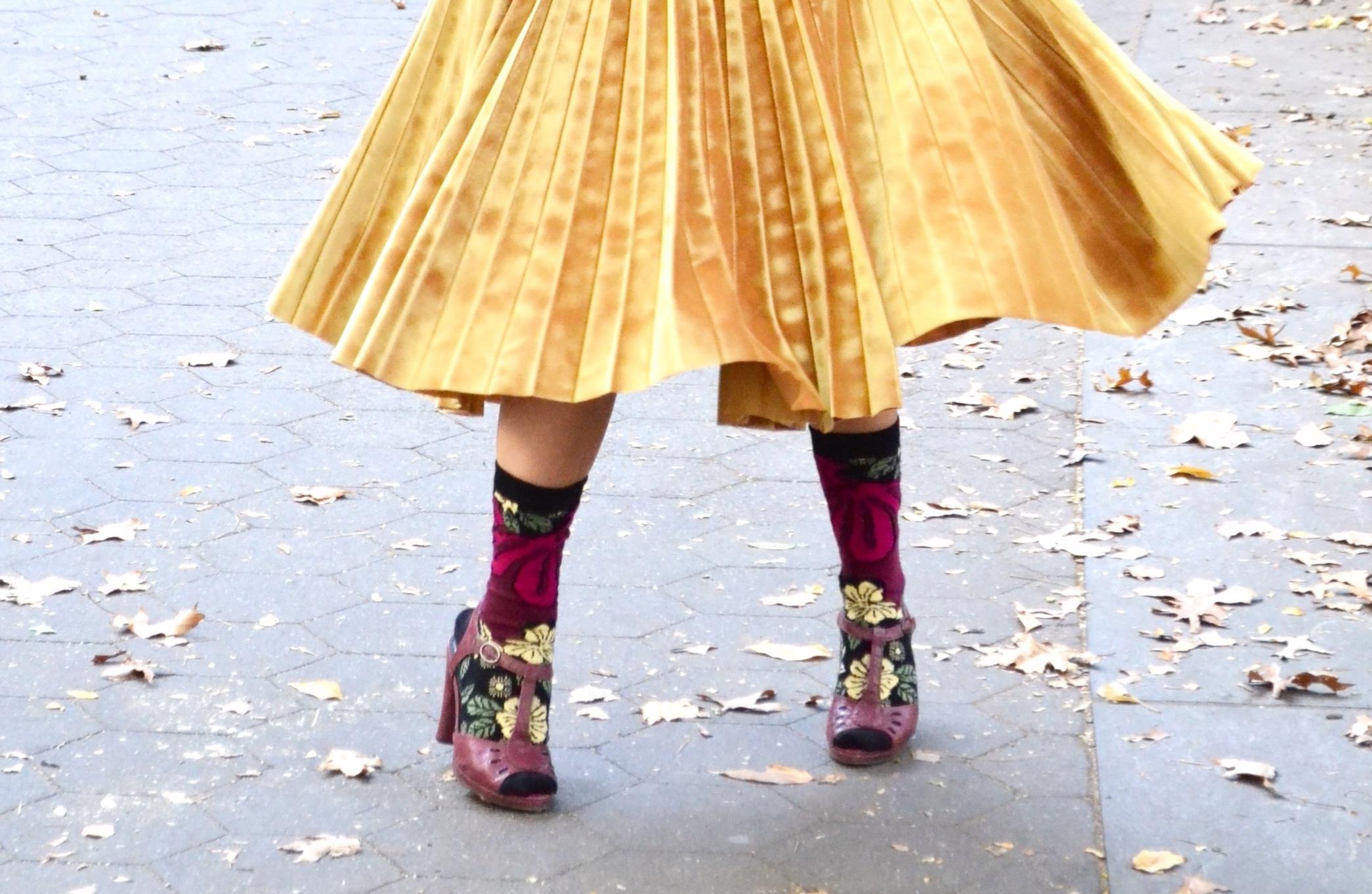 My favorite   STANCE   socks with a pair of vintage heels (P.C. Mom!)