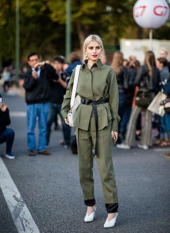 Military Olive Outfit