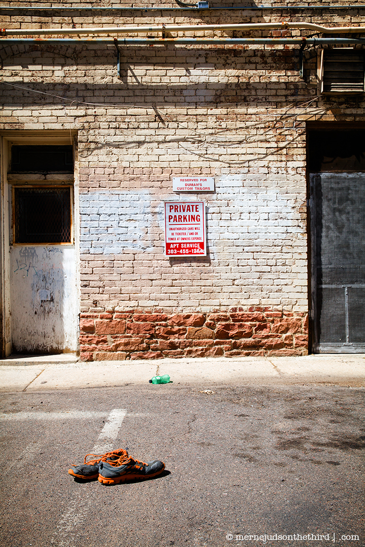 167 - Unauthorized Parking Will Be Towed - 07.17.14 - One A Day series
