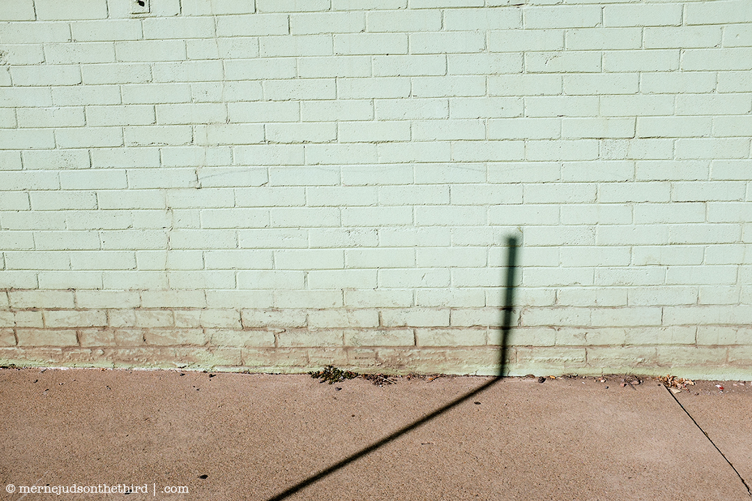274 - Another Bad Brick Wall Photo With A Perfectly Bad Shadow - 11.01.14 - One A Day series