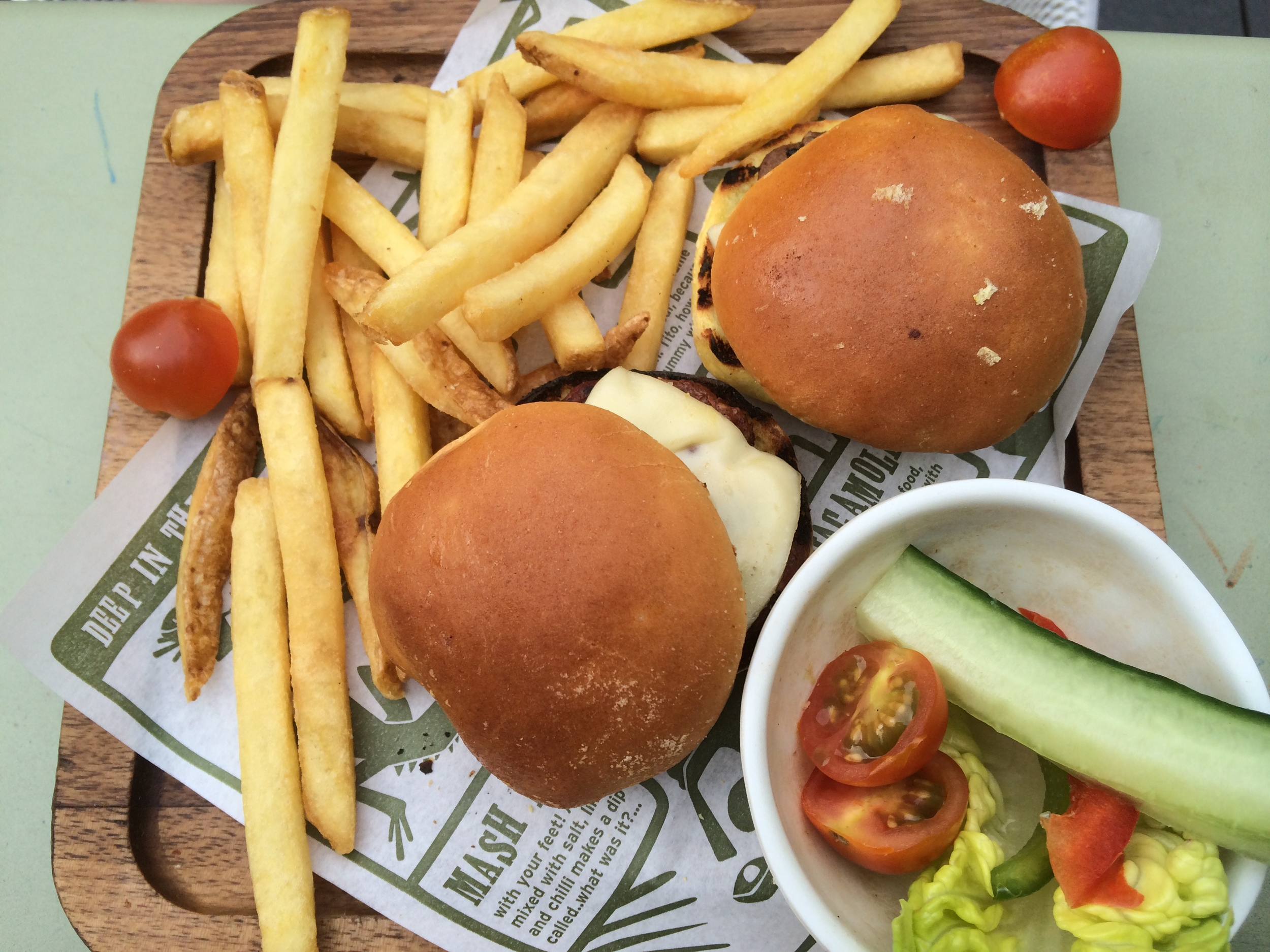 Meaty Mini Burgers