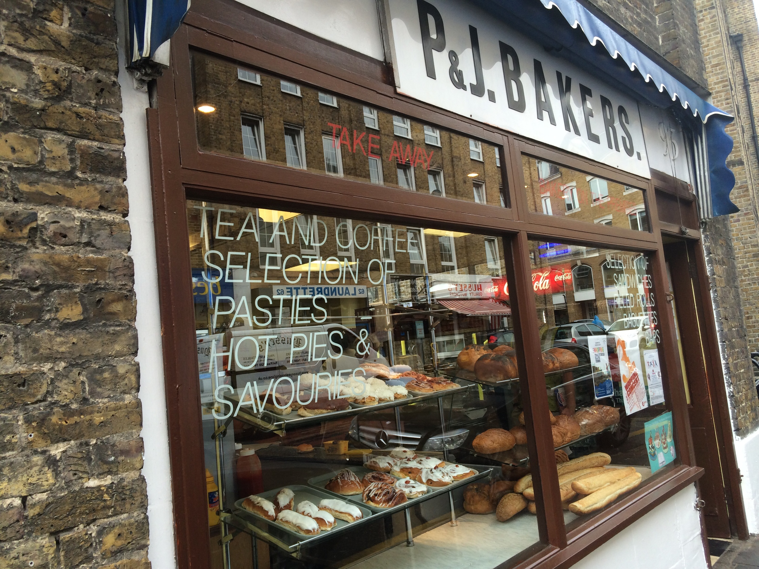 P&J Bakers on Wapping Lane