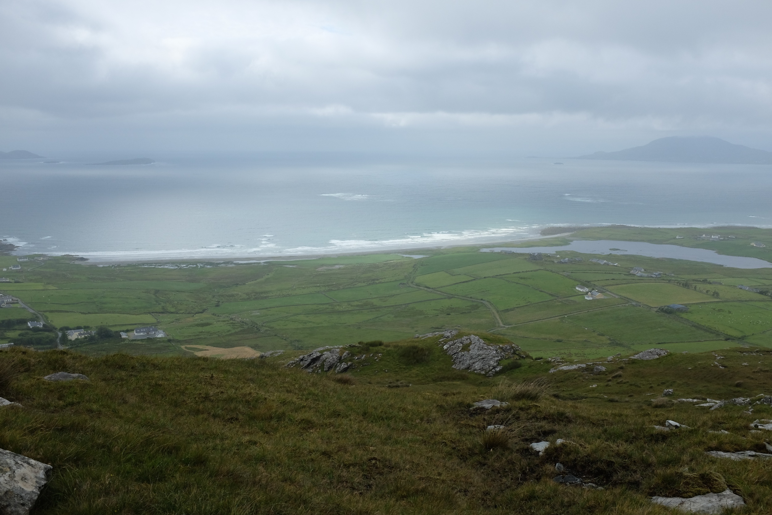 The view from the top of Killadoon Hill