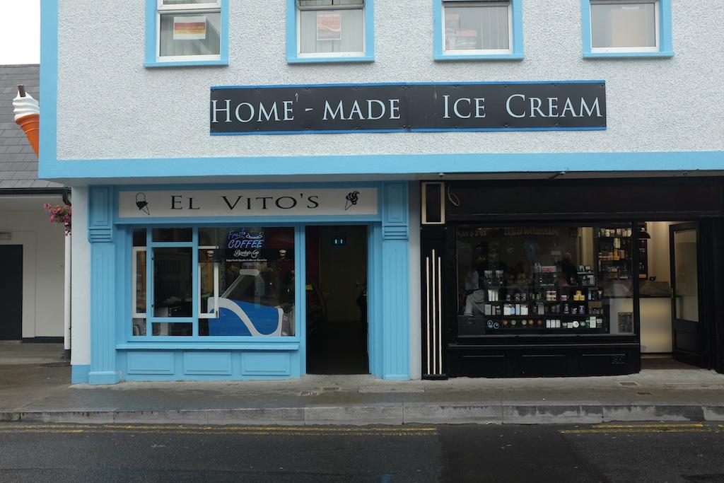 El Vito's Ice Cream Shop in Castlebar