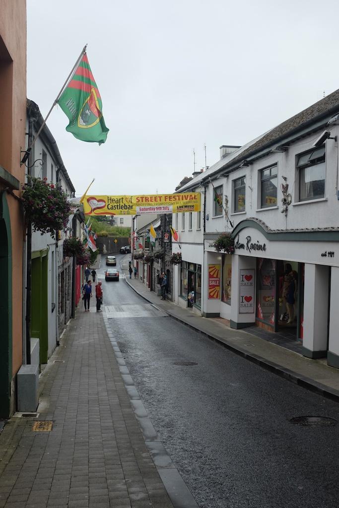 Street view in Castlebar