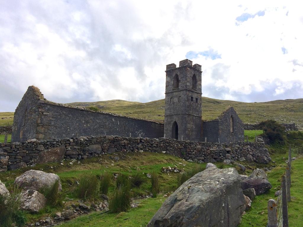 Church ruins near Devlin