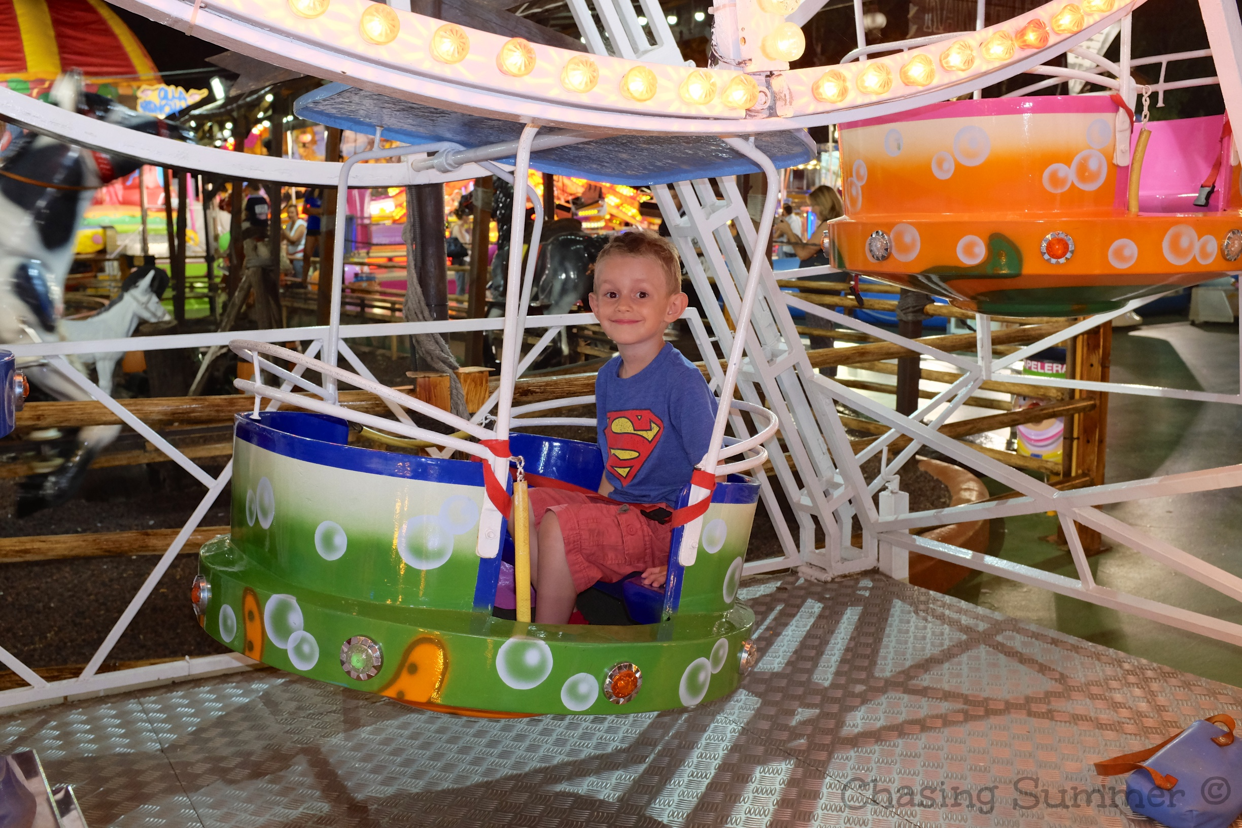 Fun Fair at Platja D'Aro