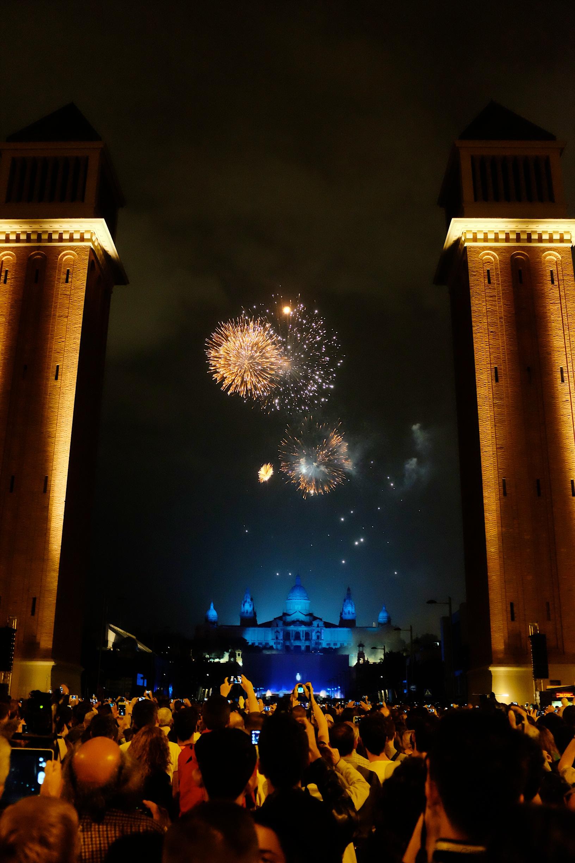 La Merce 2014 Fireworks