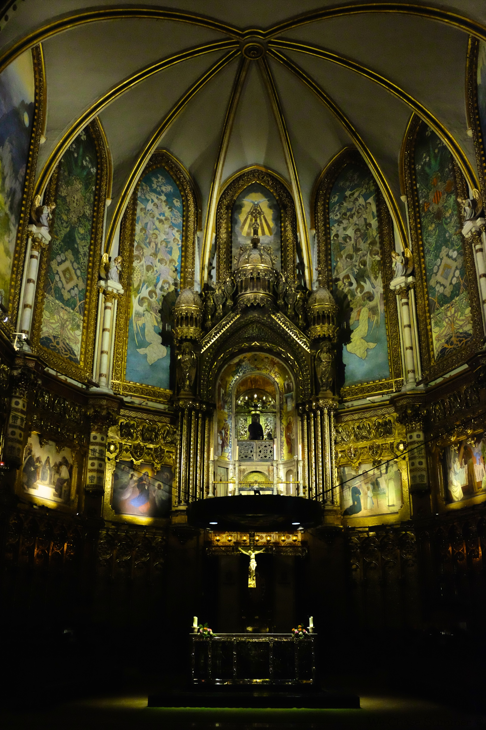 "You can visit the inside of the Basilica for ""free"""