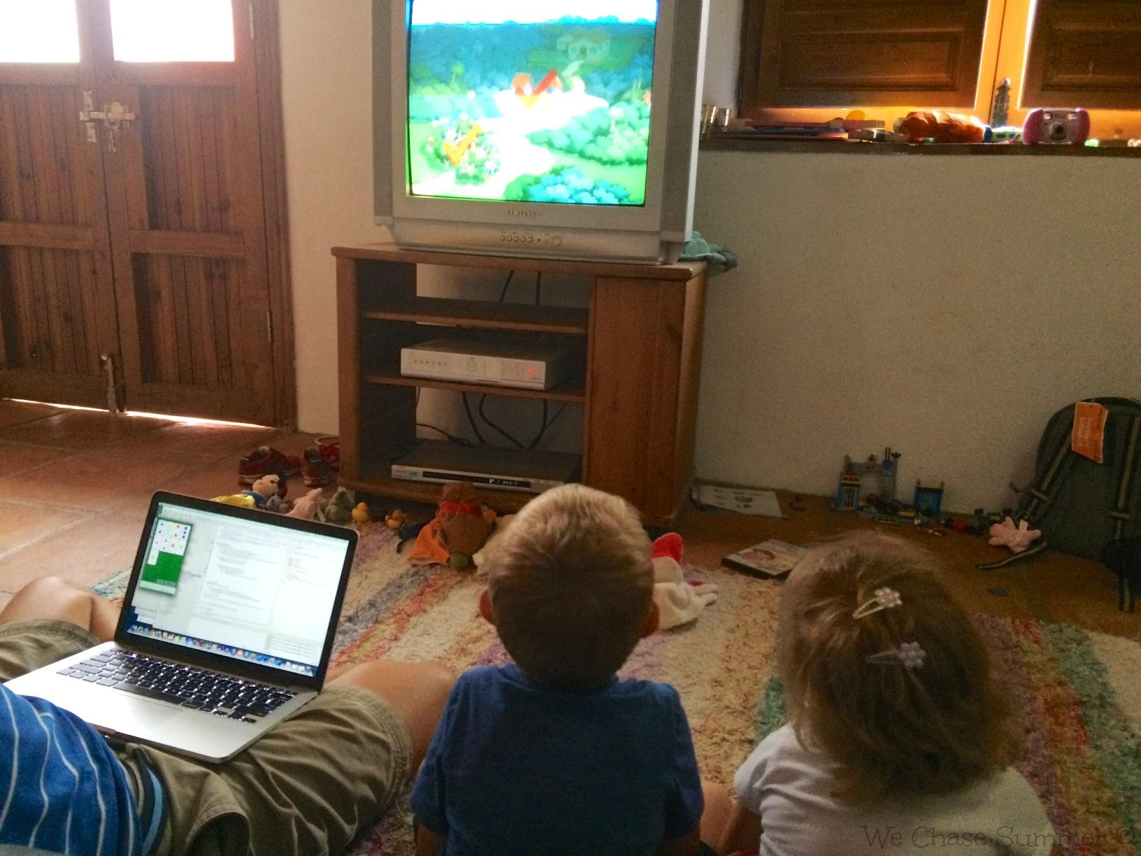 Watching Dora the Explorer