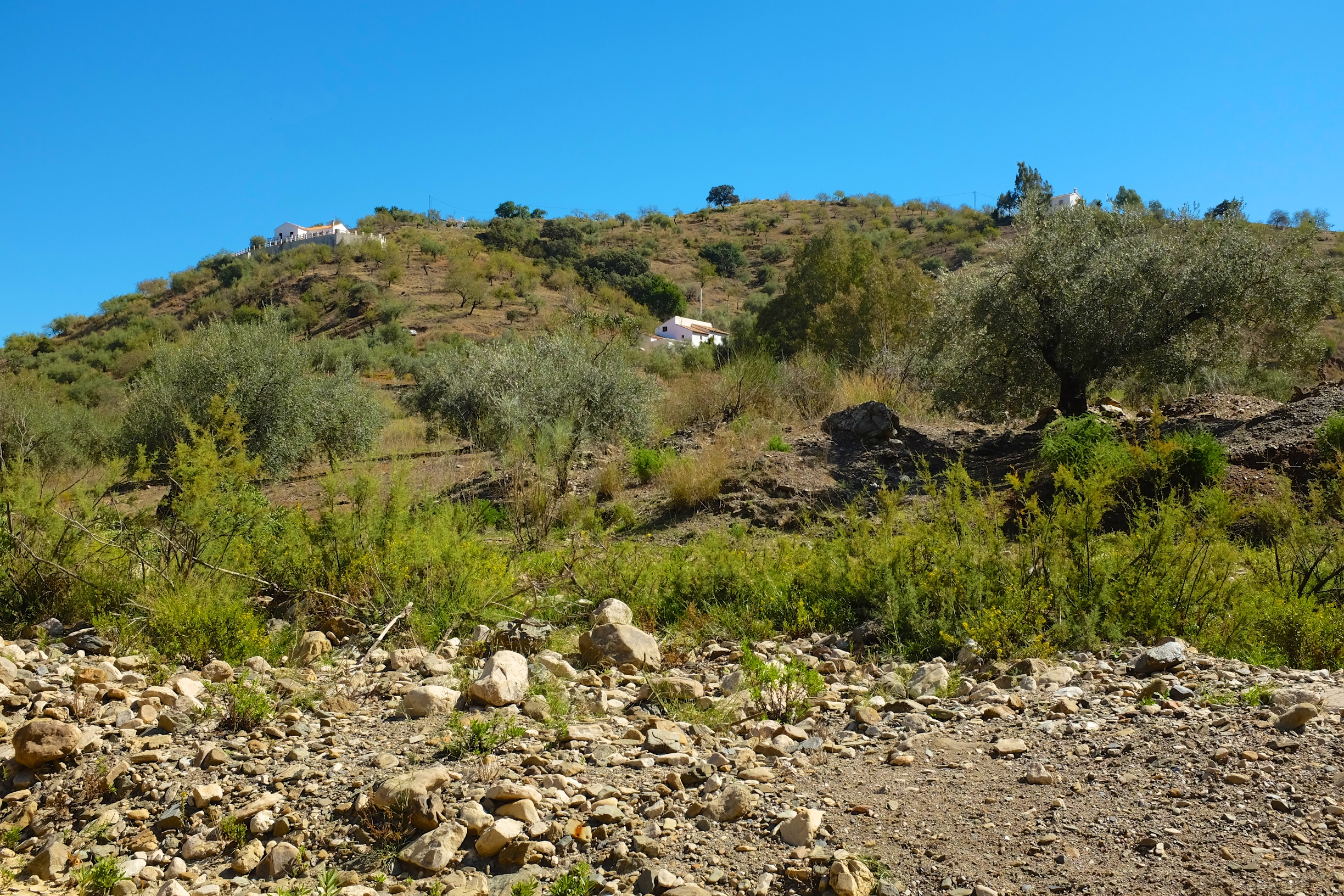 Hiking in the Andalucian Mountains
