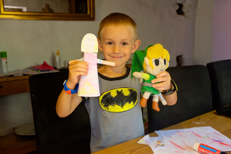 Princess Zelda Paper Doll