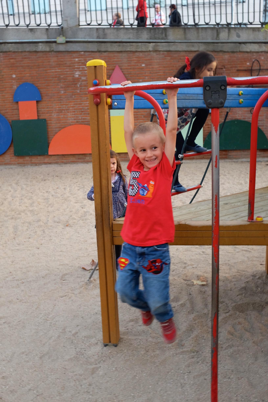 Playground at Jardines Sabatini
