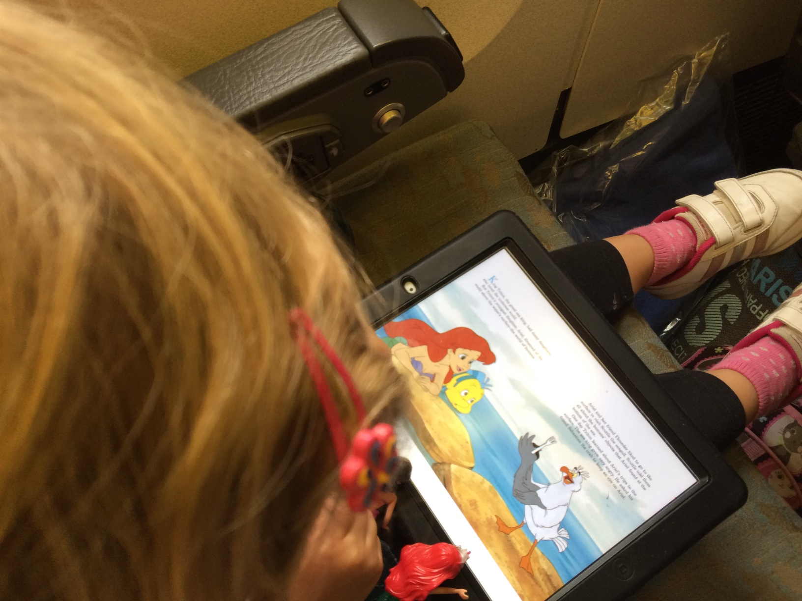 Reading The Little Mermaid