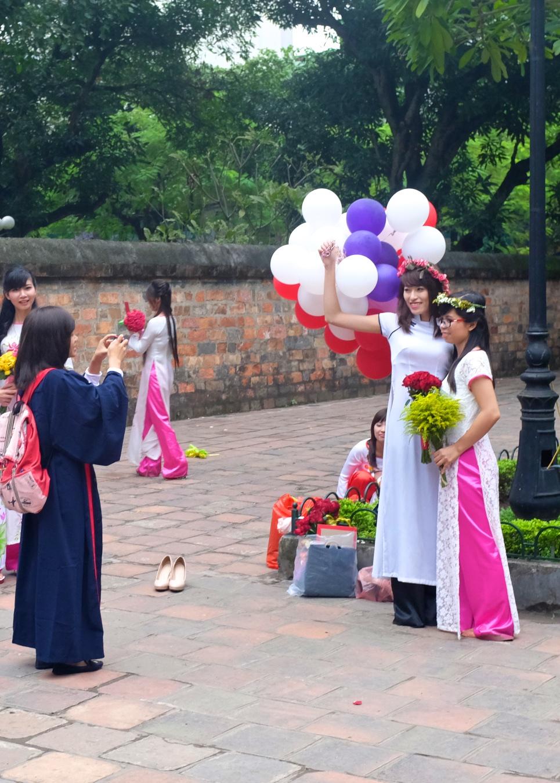Graduation at Văn Miếu