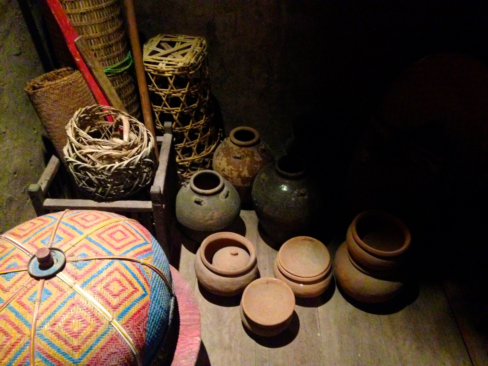 Open Air Exhibition - Houses of diverse ethnic groups