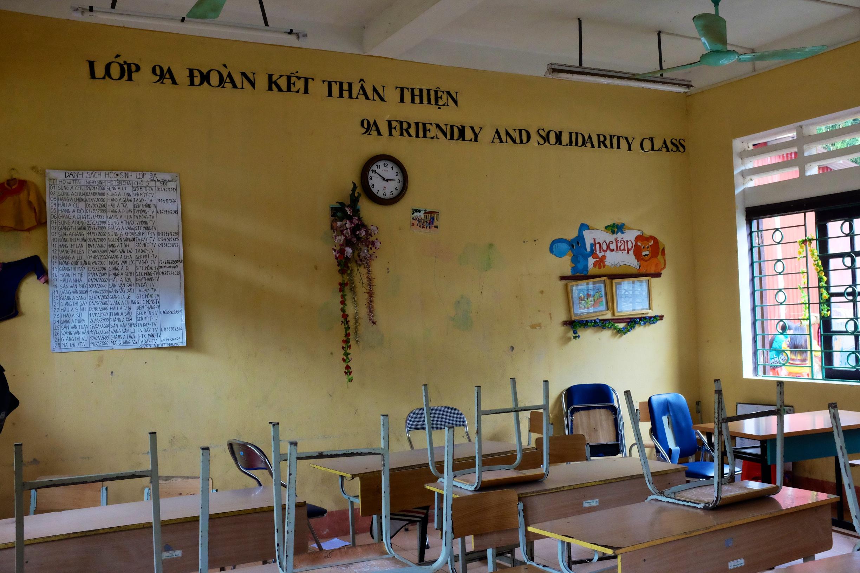A Sa Pa Classroom