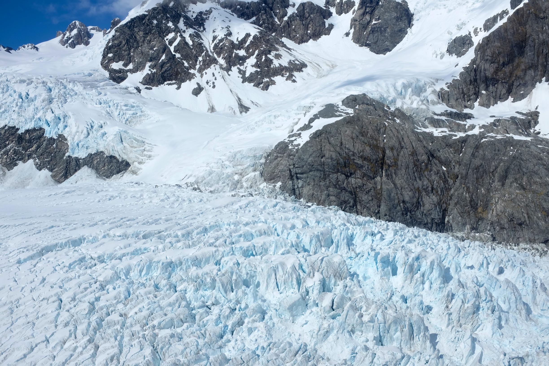 Top of Franz Josef Glacier