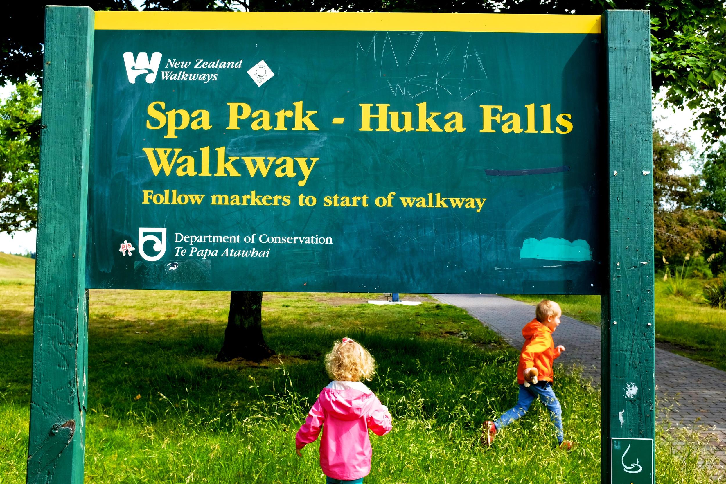 Spa Park - Huka Falls Walkway