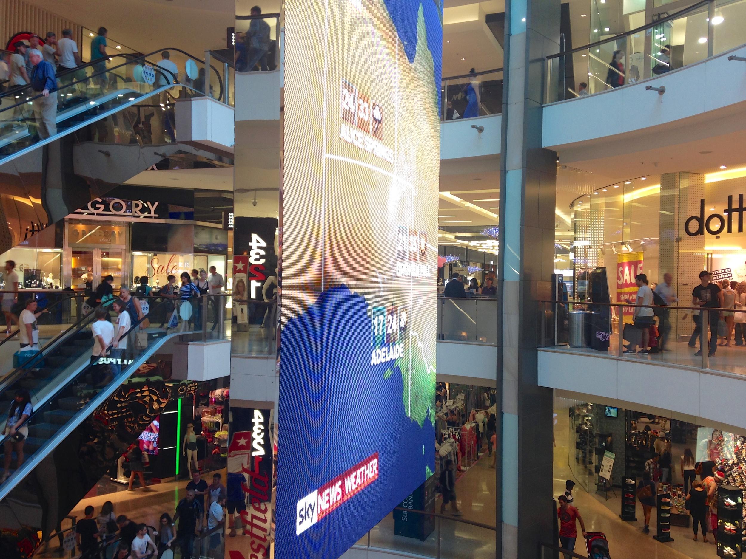 Bondi Junction Shopping Center