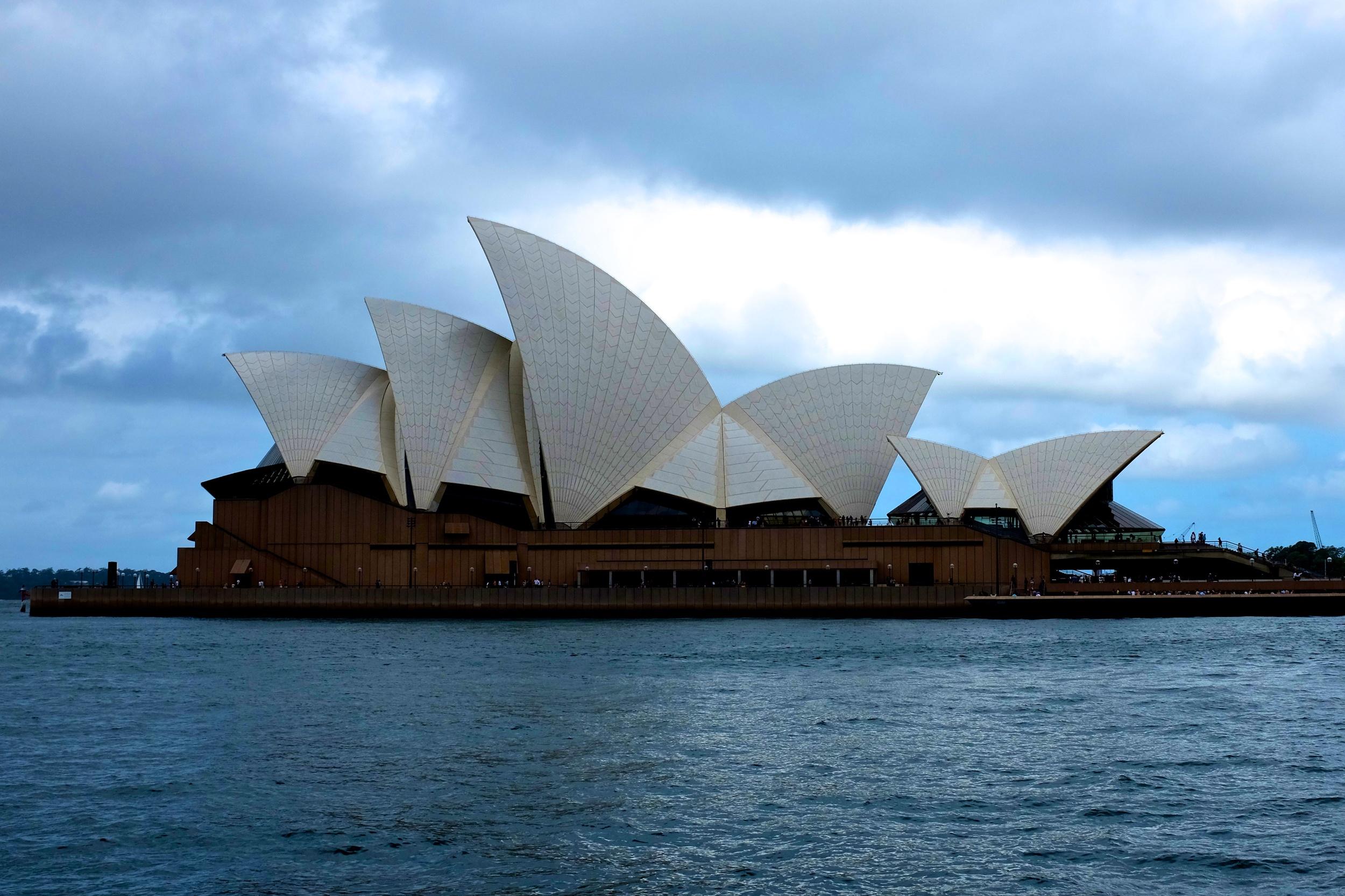 Sightseeing in Sydney