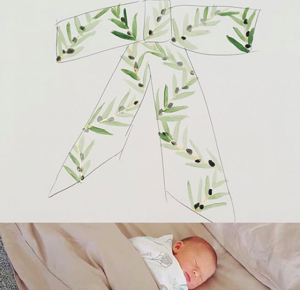 olive hand painted bow tie edward kwan melbourne 3.png