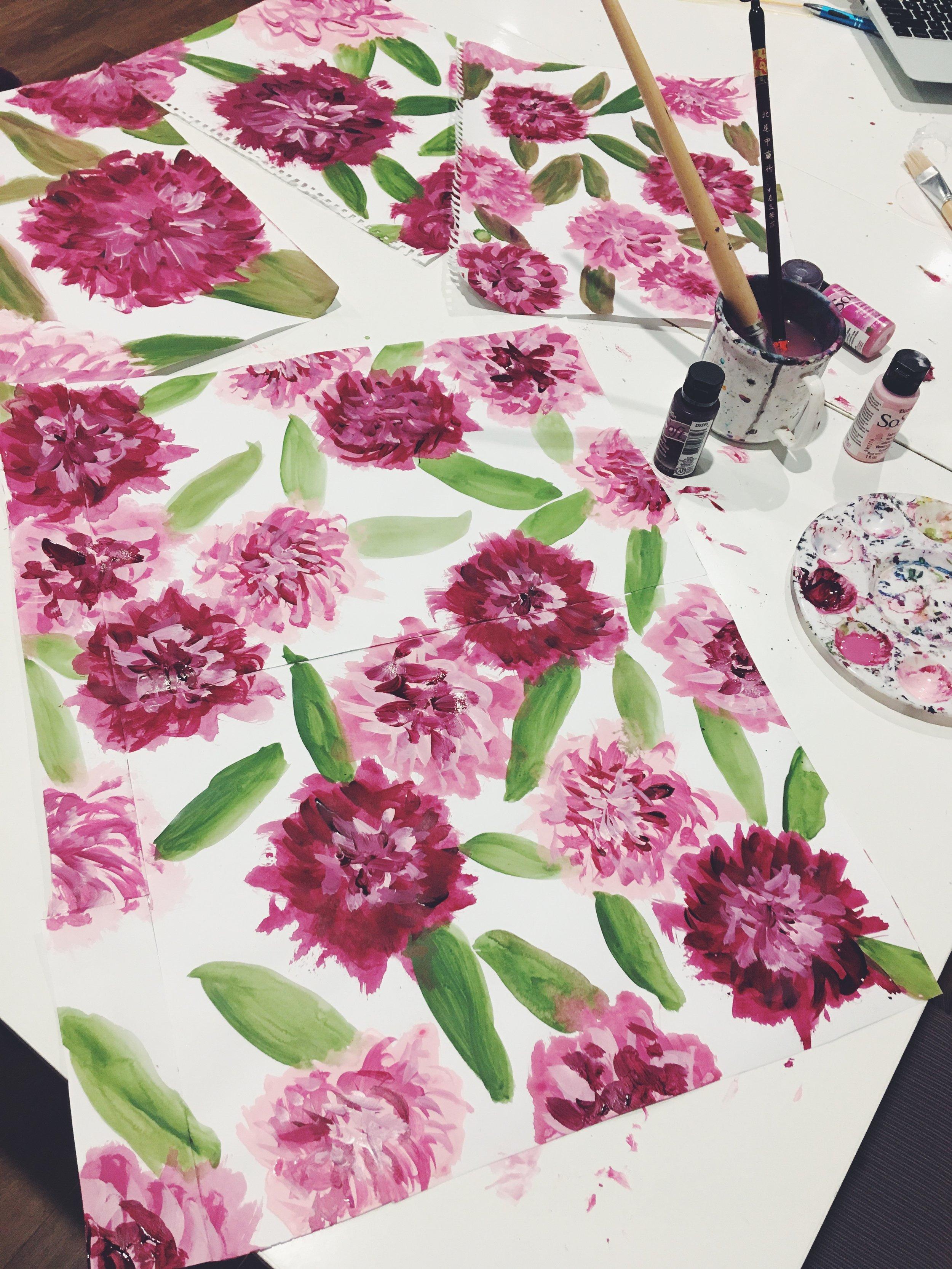 edward kwan hand painted floral bow ties melbourne australia 9.JPG