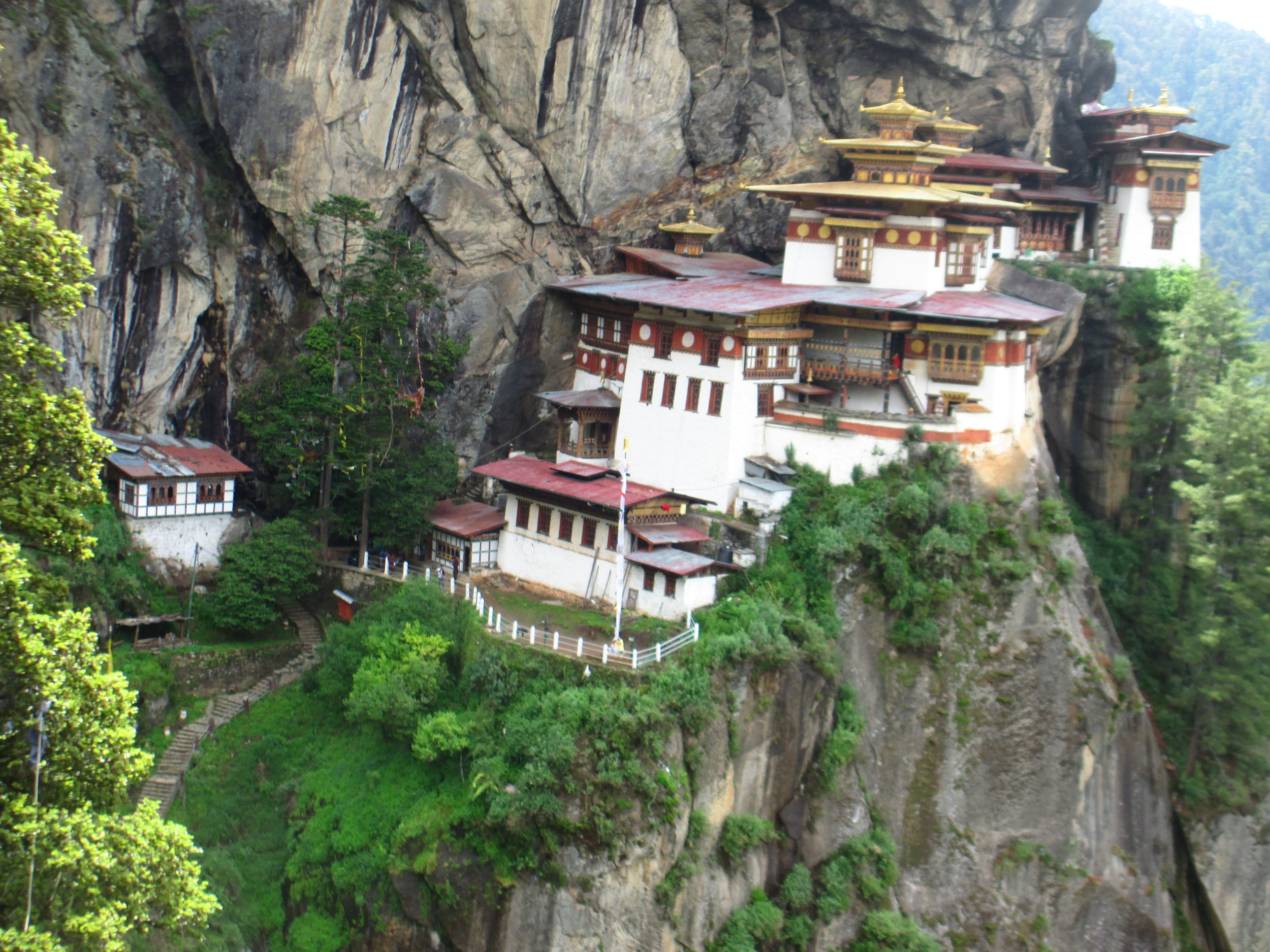 """Tigers Nest"" in Bhutan"