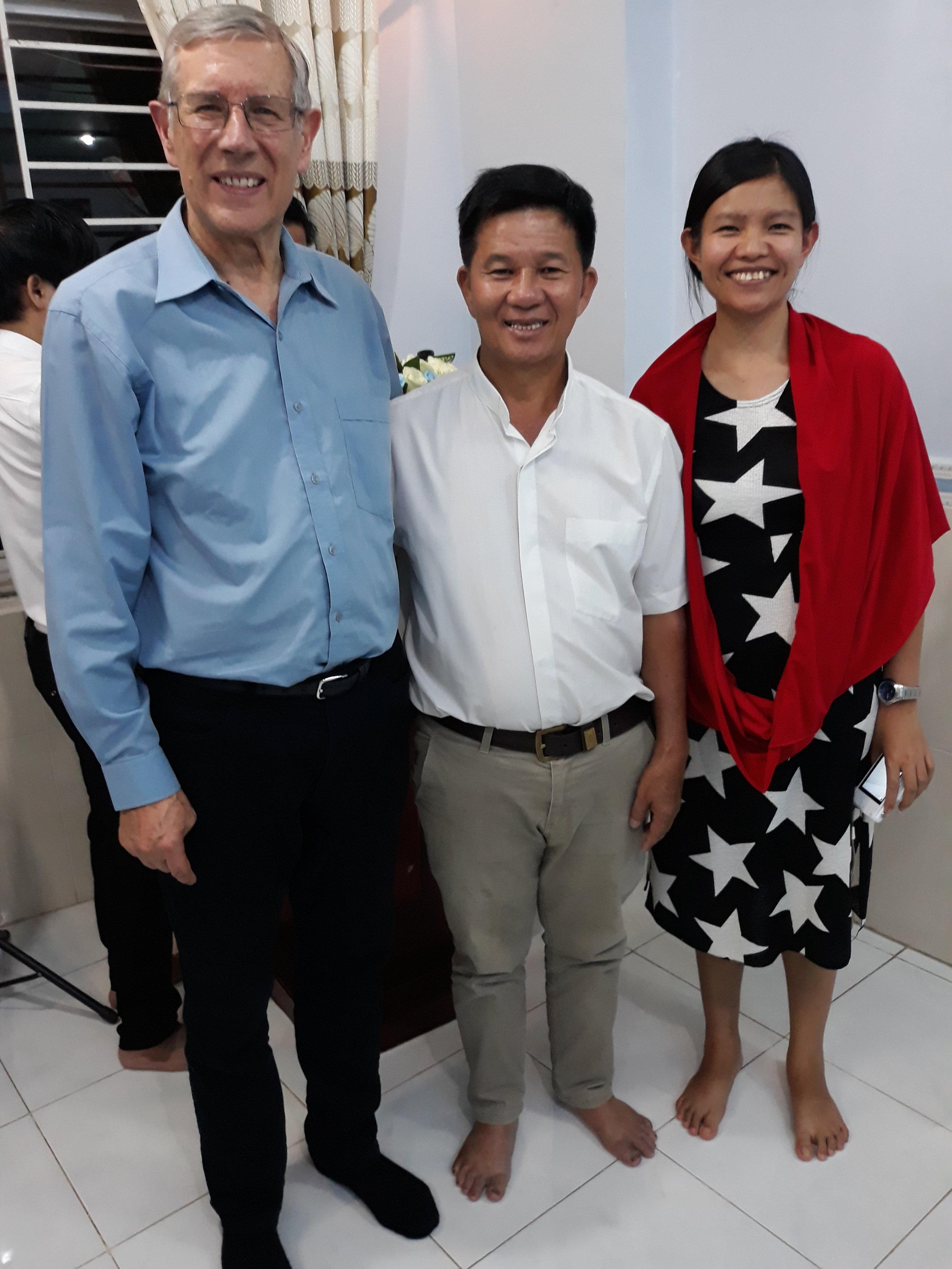 Ps David, Kinh &Amabel July 2018