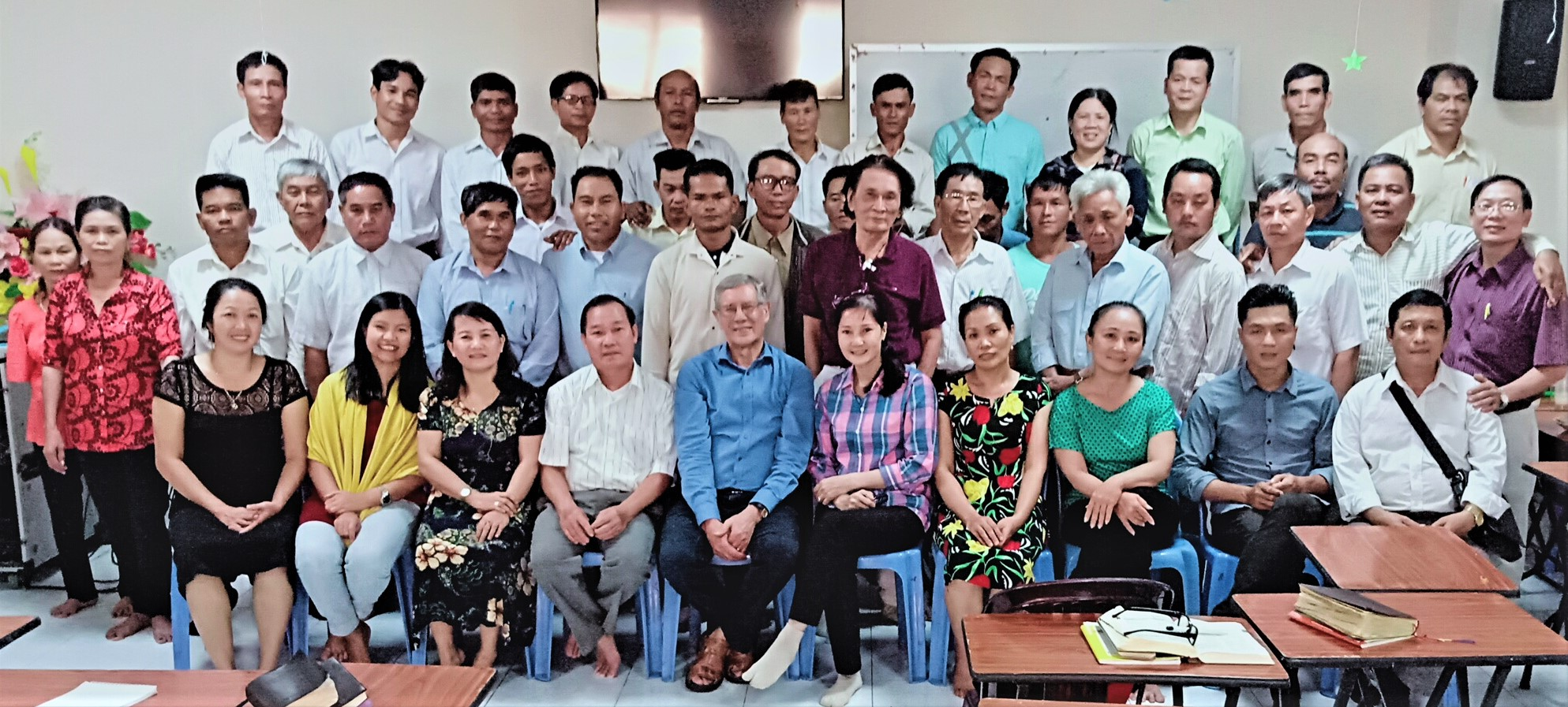 Teaching the Gospel, Ps Nhon's Class, with Ps David  July 2018, HCMC