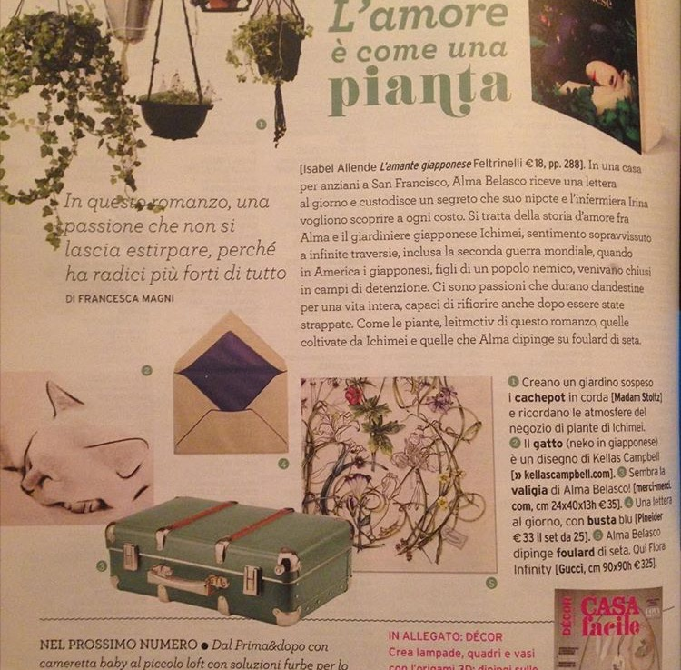 Italian home design magazine, Casa Facile