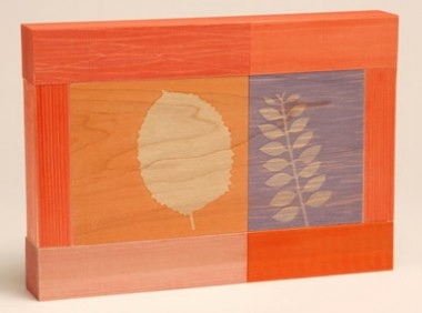 'FROND' - Silkscreen on wood