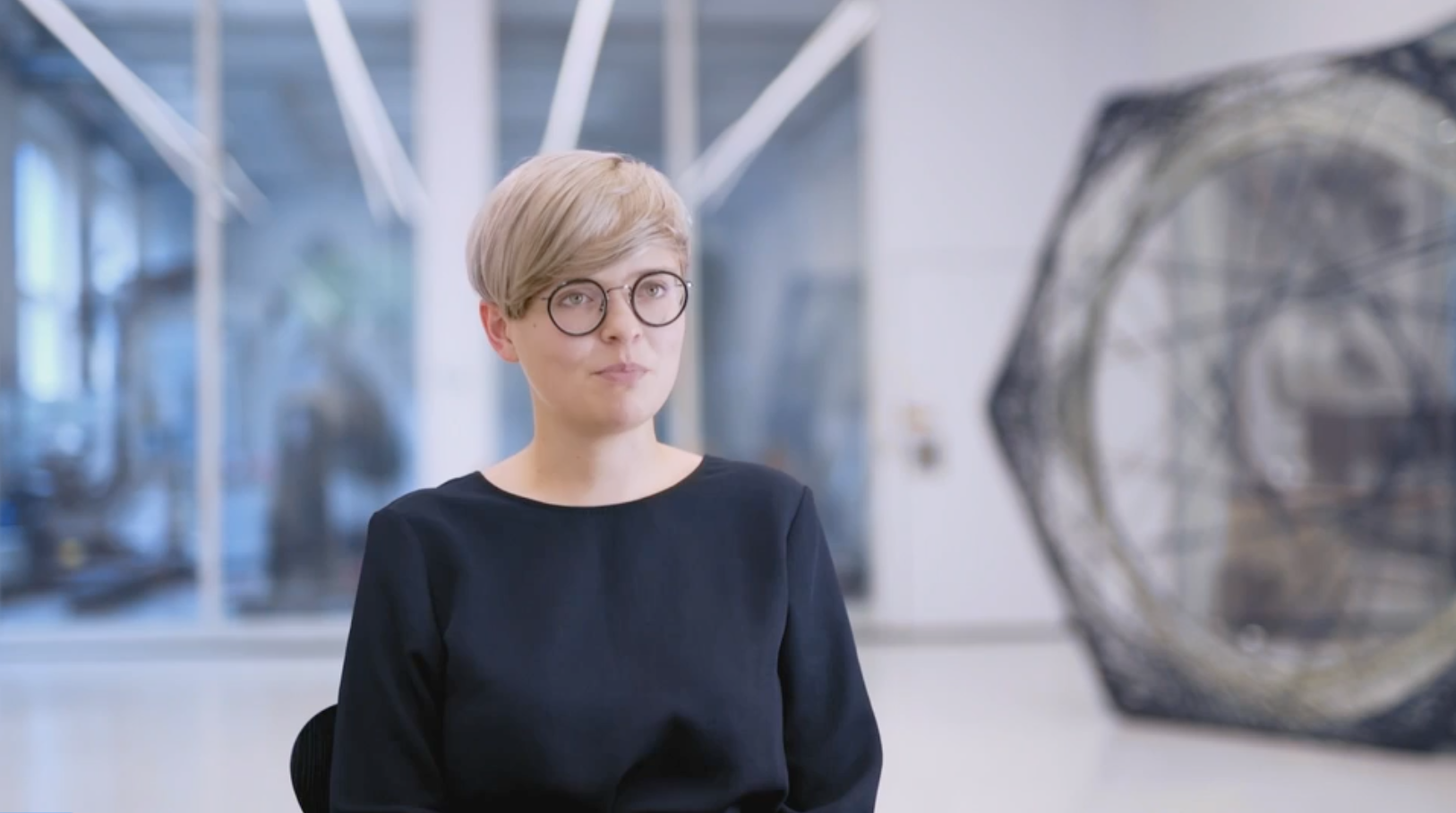 Maria Yablonina believes that robots have created groundbreaking possibilities for artists, and her work investigates the curious and the complicated.