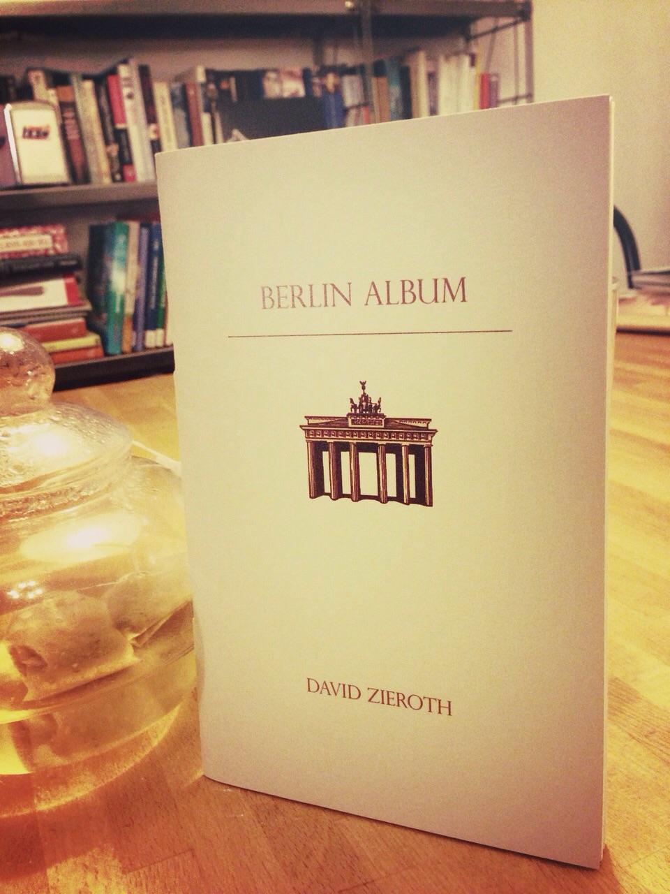 Berlin Album Rubicon Press  2009