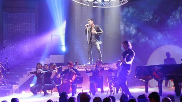 Airlie Koo's Australian Urban Orchestra performs for Australia's Got Talent