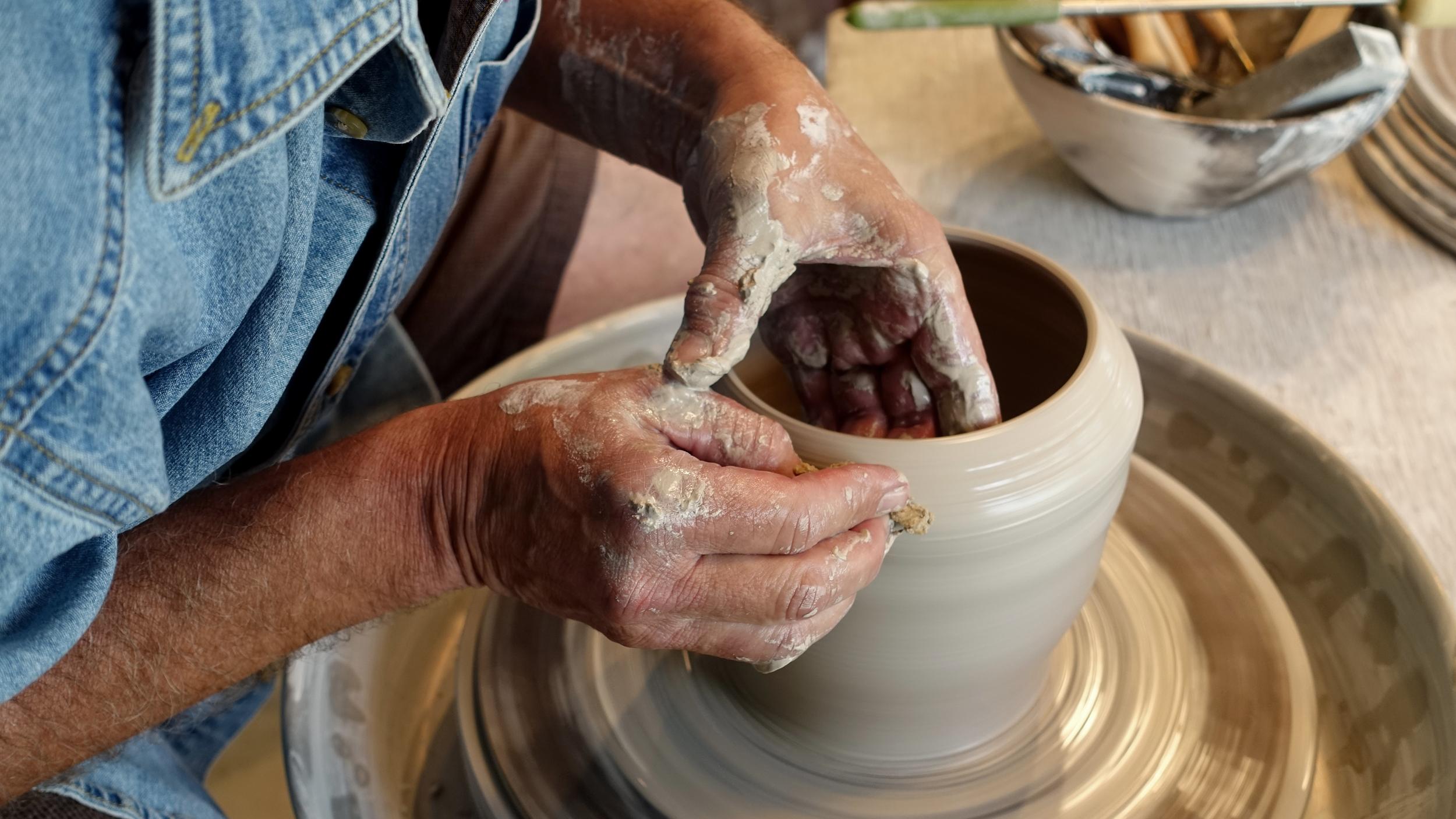 Miller Pottery Ron Millers Hands.jpg