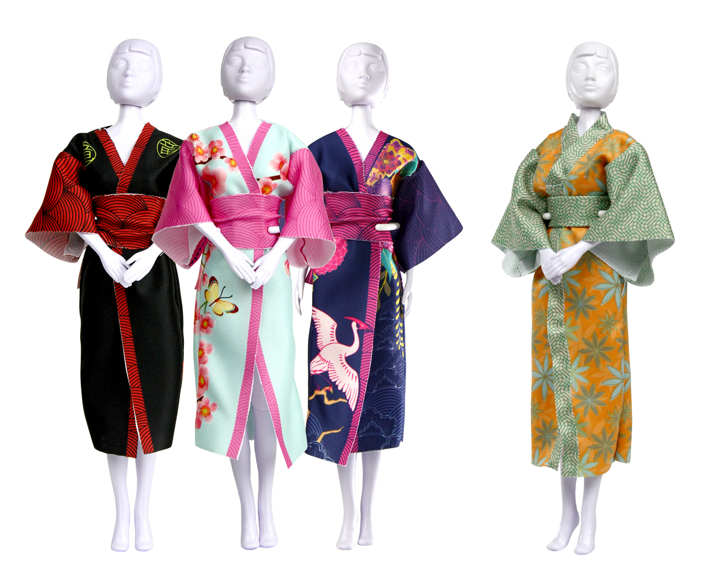 Happy Earth Day How To Make A Kimono The Dressyourdoll Blog
