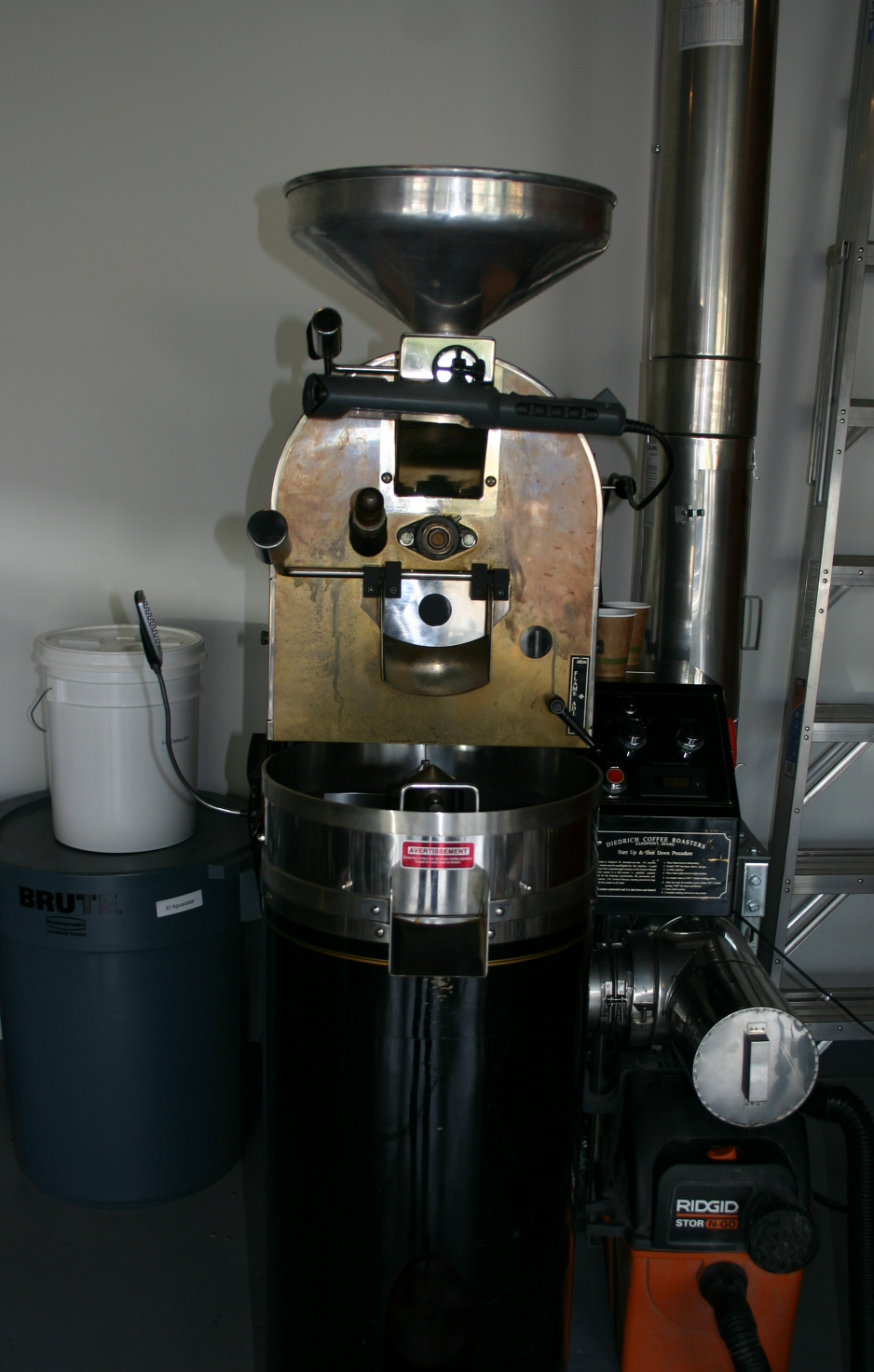 The DTCC Coffee Roaster
