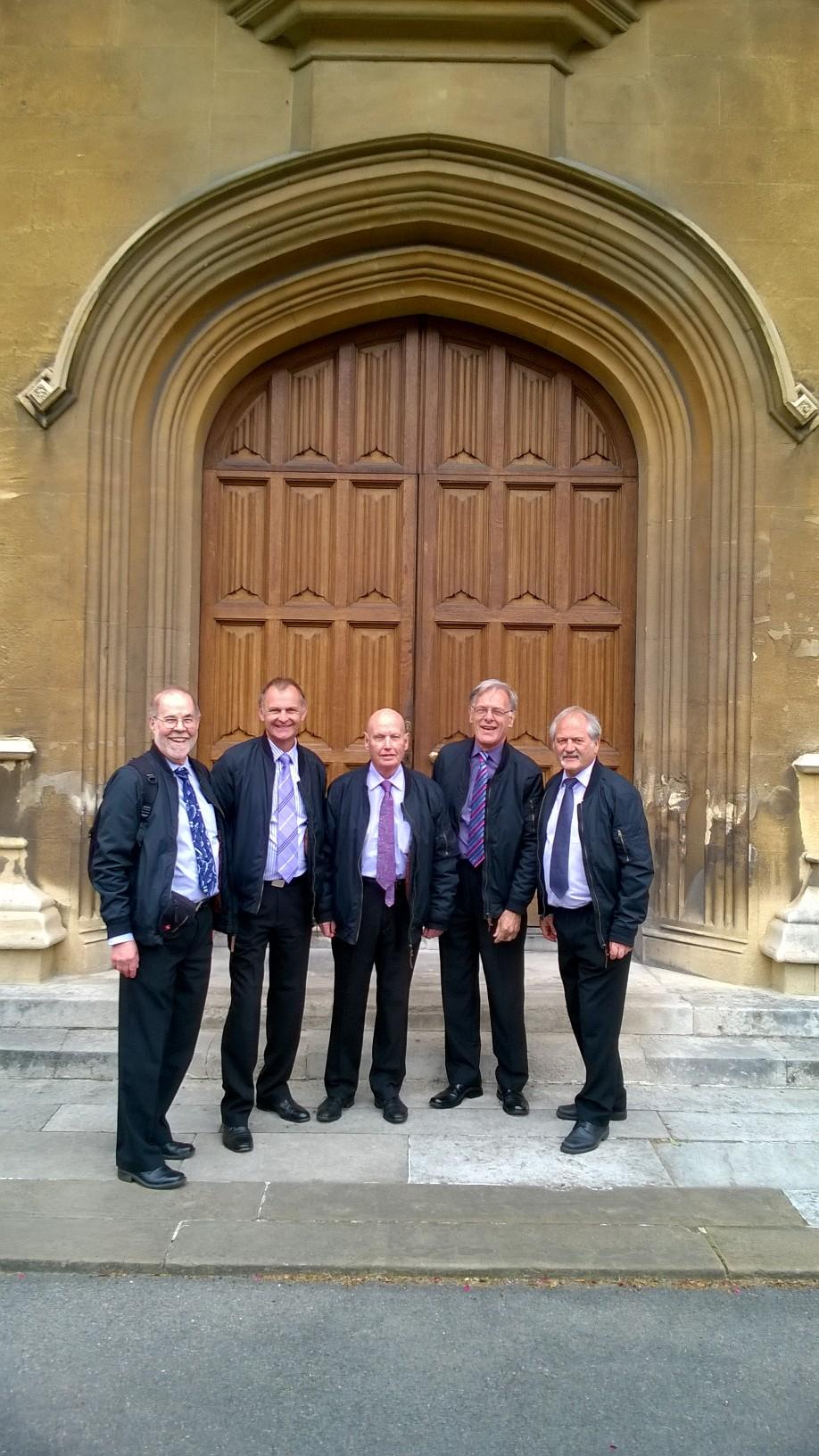 Quintessence outside Lambeth Palace