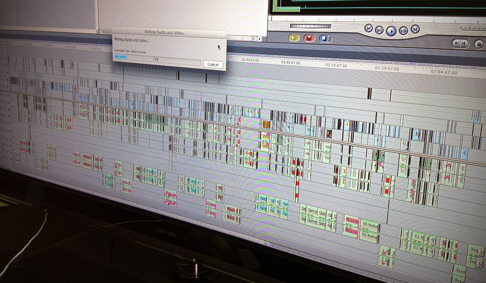 Our final timeline - coming to iTunes soon