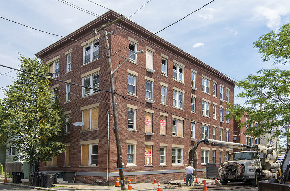 71 Palmer St, - After a fire and under construction