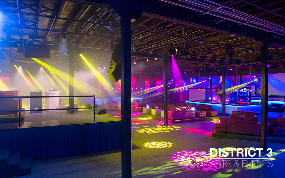 District 3 Downtown Tampa Venue