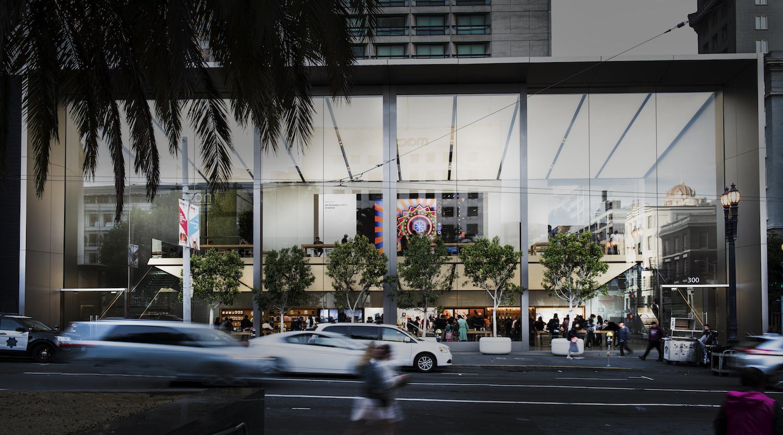 Apple Store Union Square SF - Client LedCor Vancouver