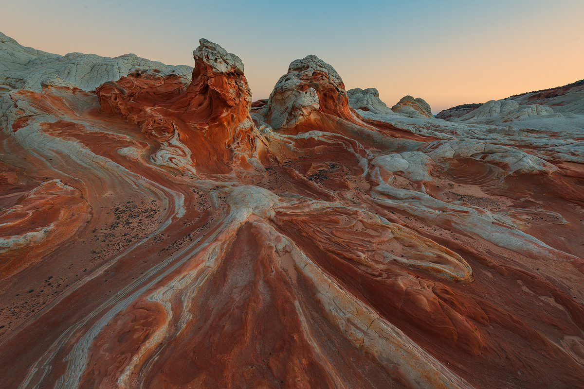 Sherbert Rocks, White Pockets, Vermilion Cliffs, Arizona