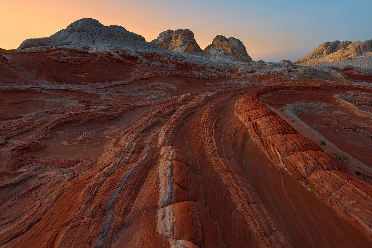 The Dragons Tail, White Pockets, Vermilion Cliffs, Arizona