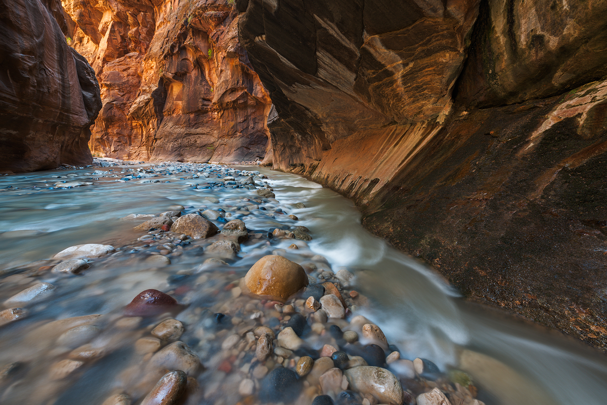 Virgin Flow, Wall Street, The Narrows, Zion National Park, Utah