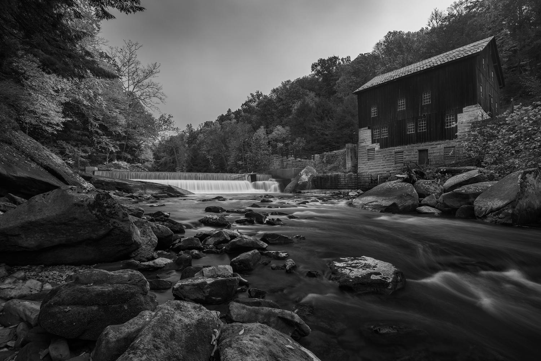 Built in 1868, the Historic Grist Mill sits alongside Slippery Rock Creek.