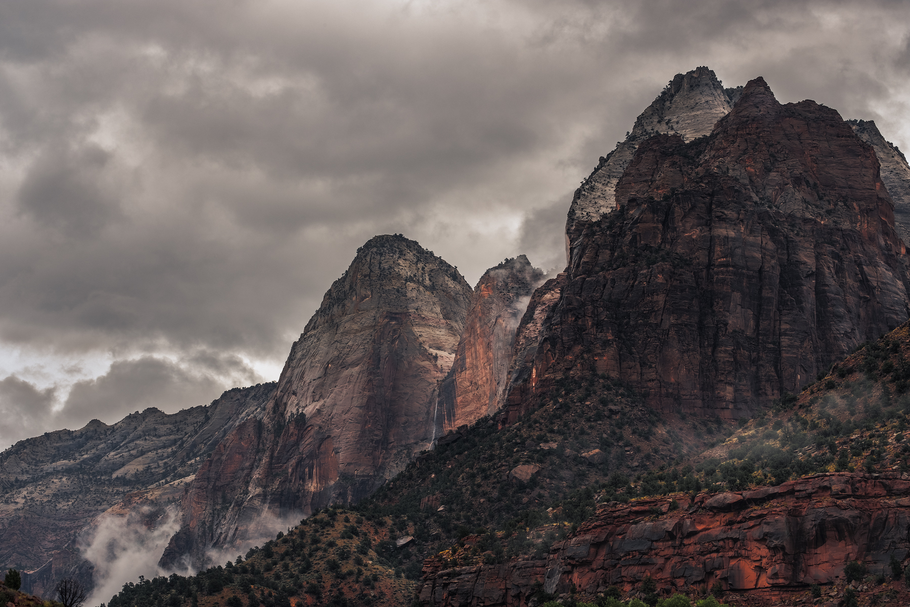 Storm over Zion, Zion National Park, UT.