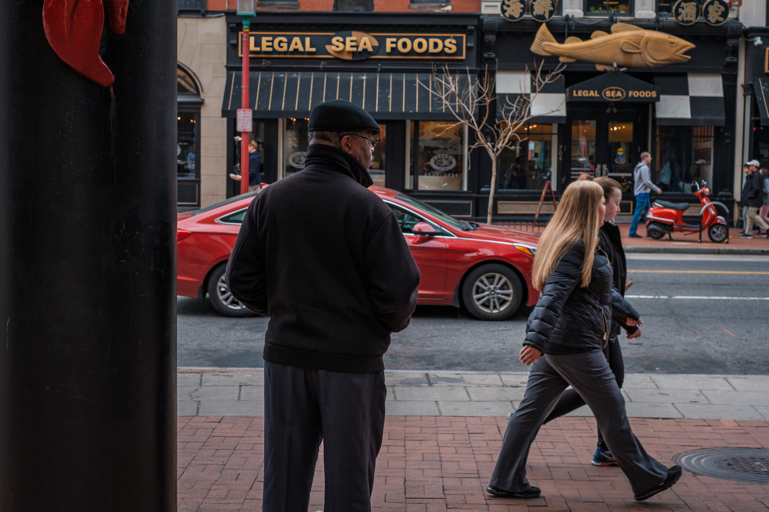 Watching and Waiting  • Chinatown, Washington DC.   Fuji X-H1 and a Fujinon XF35 f1.4   ISO 400, f5.6, 1/125 of a second.